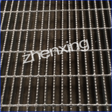 Hot Galvanized Serrated Steel Grating