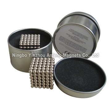 N35 Nickel Plated Sphere Magnets ¢20