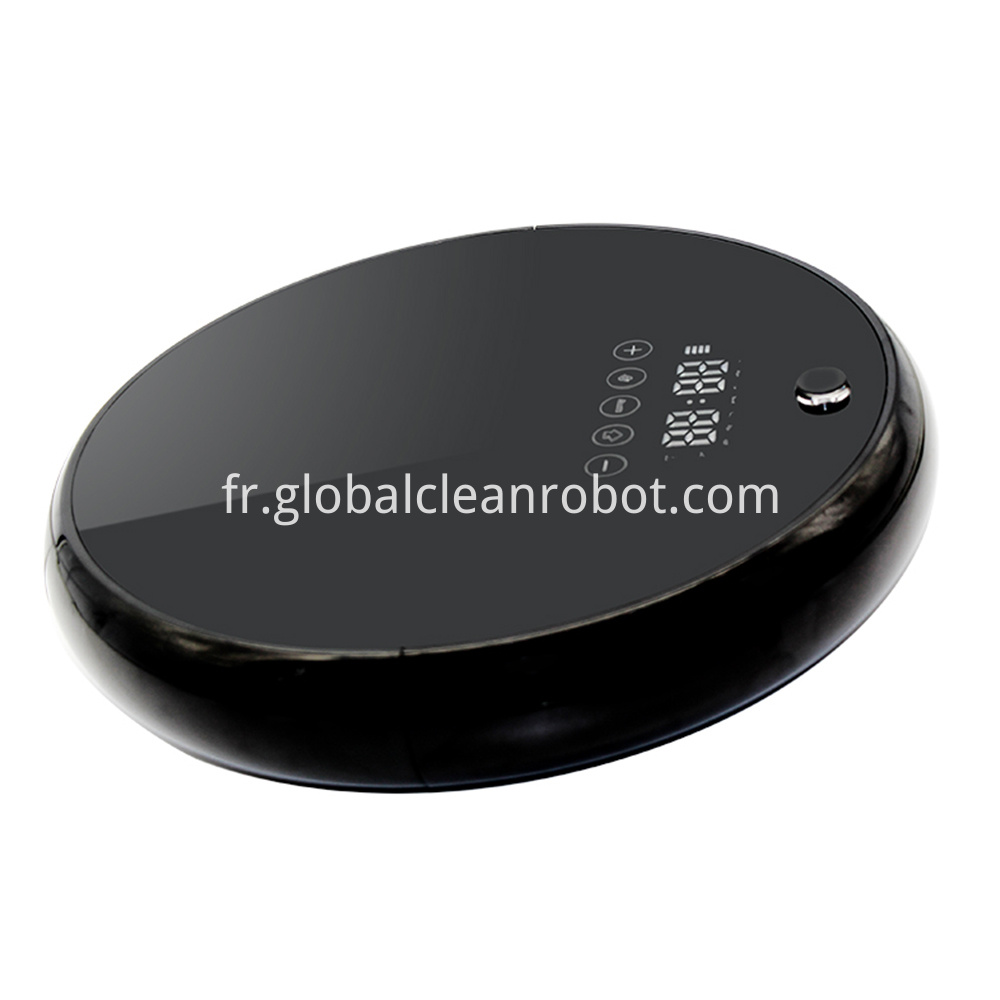 LED Touch Display Vacuum Robot (2)