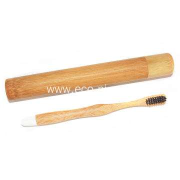 Organic Cheap Compostable Bamboo Tube Packaging Toothbrush