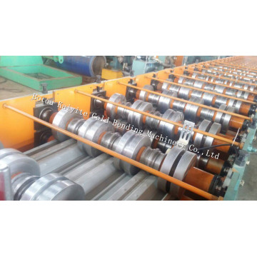 Steel Structure Galvanized Floor Deck Roll Forming Machine