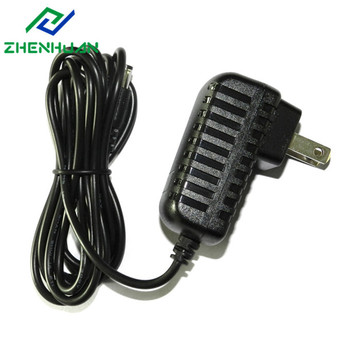 12V1.5A 18W Narrow Version American Travel Plug Adapter