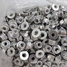 High Quality M10 Alu Lock Nuts vs Bolts