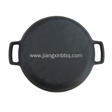 Pre-Seasoned Round Cast Iron Pan