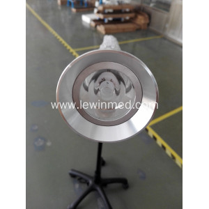Black examination lamp with led bulb
