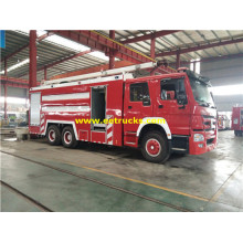 16m3 10 Wheel SINOTRUK Fire Trucks