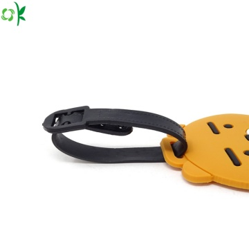 Hot Selling Portable Silicone Luggage Tag for Travel