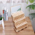 Creative customizable color wooden cosmetics cosmetic case
