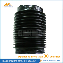Good Quality for Rod Bellows Shield Cover Plastic Round Type Bellow Cover Waterproof Protective Cover supply to Turks and Caicos Islands Manufacturer