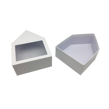 Custom Cosmetic Paper Gift Box With PVC Window