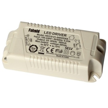 High PF 18W 300ma Indoor LED Driver