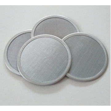 Sintered stainless steel wire mesh filter round disc