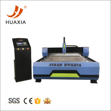 Heavy duty plasma table for cnc cutting machine
