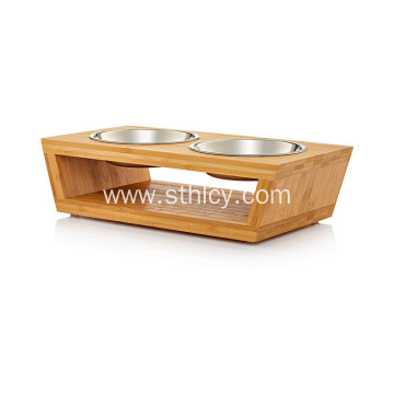 Cat and Dog Stainless SteelFeeding Bowl Mat