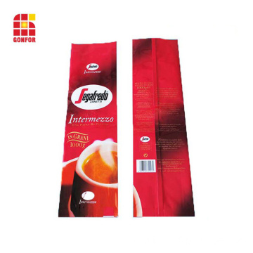 Free samples food grade coffee bag with valve