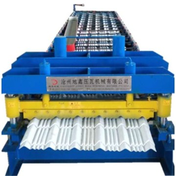 DX Roof Glazed Tile Roll Forming Machine