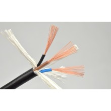 China for Ac Power Cable Black Strands of Soft Copper Wire supply to Saint Vincent and the Grenadines Importers