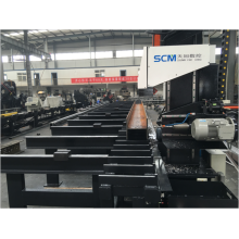 Single Spindle High  Speed CNC Beams Machine