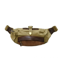 Canvas Buckle Travel Sport Waist Fanny Pack Bag