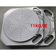 China Manufacturer for Standard Wheel Alignment Turn Plate Best Buy Turntable supply to Northern Mariana Islands Factories