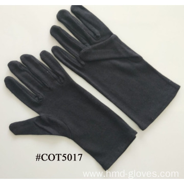 Cotton Clown Gloves White Black