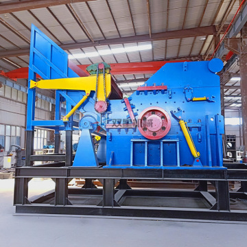 Industrial Scrap Metal Crusher Plant on Sale