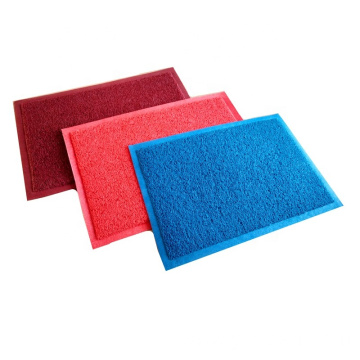 Wholesale various colors plain coil door mat