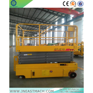 Fast delivery for for Scissor Lift Rental 12m Automatic Battery Powered Self Propelled Scissor Lift supply to China Taiwan Importers