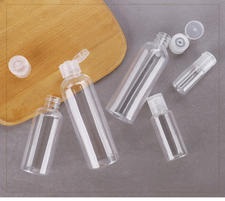 PET transparent bottle cosmetic clamshell bottle (5)