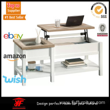 Best Price on for Coffee Table Lift-top Adjustable Wood and Glass Coffee Table supply to India Manufacturer