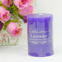 China for Cylinder White Candle Multi-colored Scented Voltive Pillar Candle export to United States Suppliers