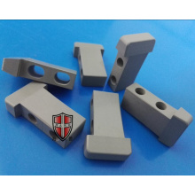 factory customized for Ceramic Parts Silicon Blade silicon nitride ceramic step shaft thread nut block export to United States Exporter