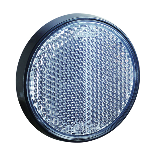 Round Backup Retro Reflector