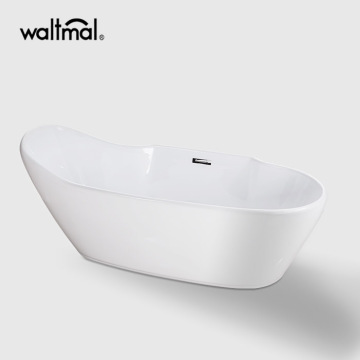 Gena Acrylic Freestanding Slipper Bath Tub