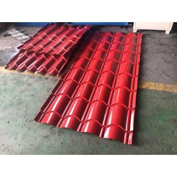 Metal roof glazed tile roll forming making machine