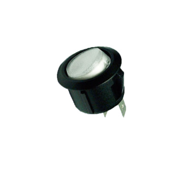 LDE Illuminated Light 2 Position Rocker Switch
