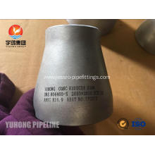 Butt Welding Fitting ASTM B366 UNS N04400 Eccentric Reducer / Concentric Reducer B16.9