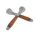 Dead skin removal feet stainless steel wood