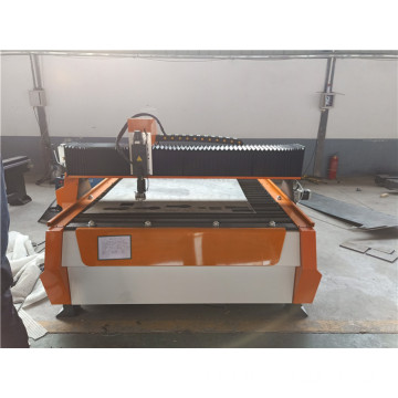 cnc plasma cutting metal sheet process machine