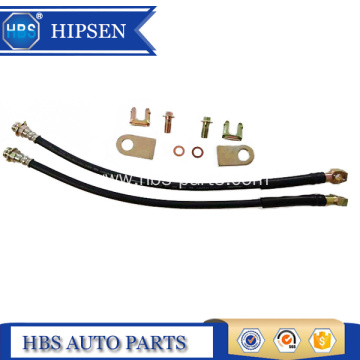 Hot selling attractive for Single Piston Brake Calipers 11 inch length rubber brake hose/brake lines supply to Morocco Manufacturers