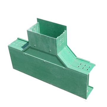 Fiberglass cable tray accessories horizontal bend