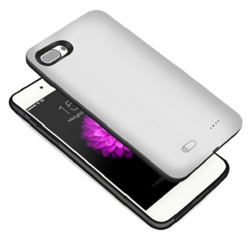 Funda de carga externa para iPhone 7 de capacidad total