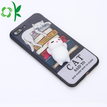 TPU Phone Case with Silicone Reduce Stress animal
