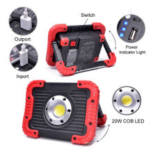 China for Outdoor Flood Lights 10W COB power bank LED Work Light supply to Libya Factory