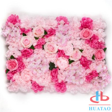 New metarial artificial flower for wall decoration