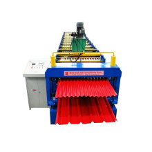 Color Steel Roof Double Deck Roll Forming Machine