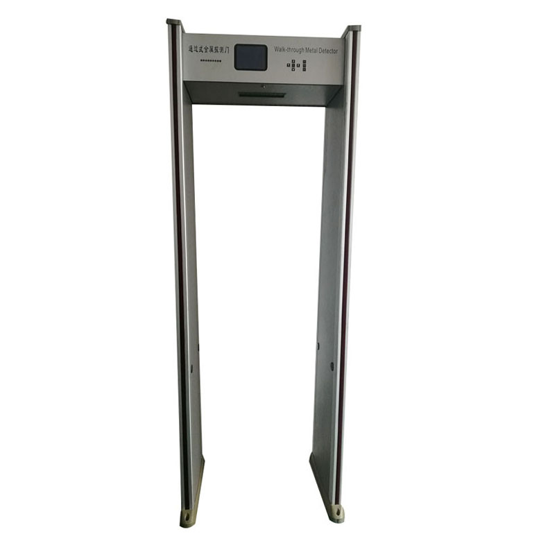 digital walk through metal detector