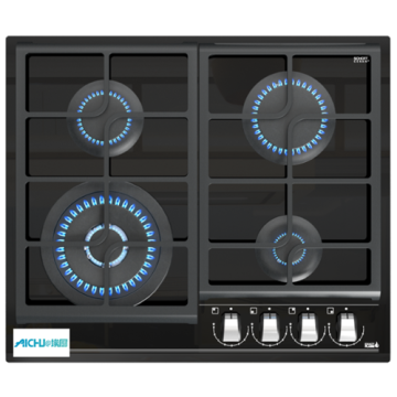 Kitchen Cooker Island 4 Burner