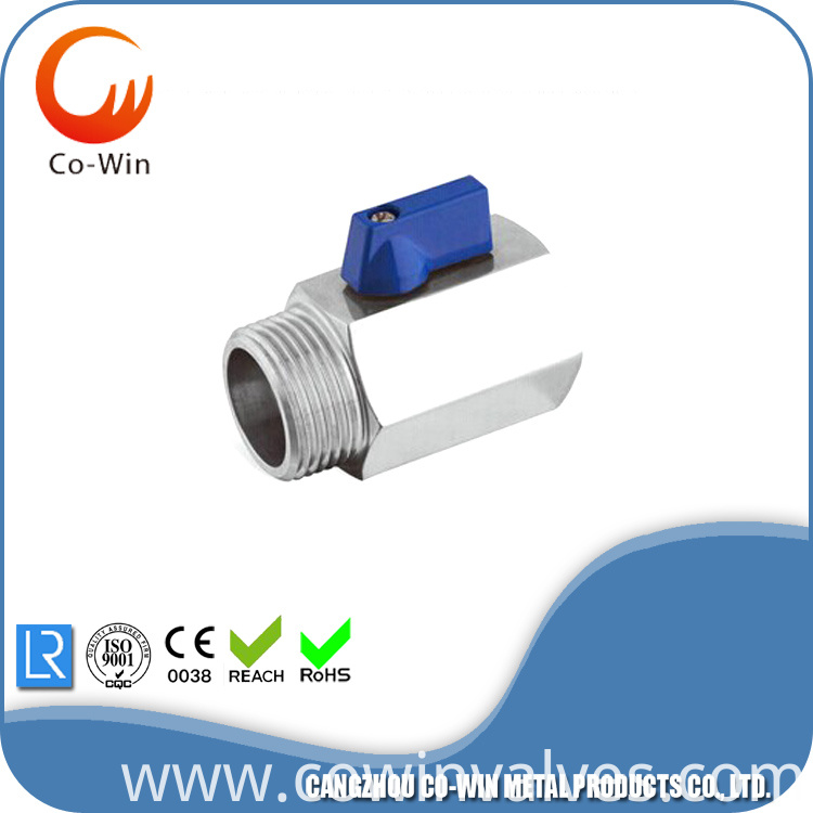 female/male Mini Ball Valves