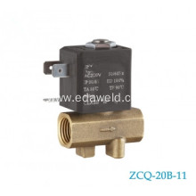 OEM/ODM for Tube Fittings Connector Solenoid Valve,Welding Machines Tube Solenoid Valve Manufacturer in China Female 220V Welding Solenoid Valve export to Lao People's Democratic Republic Manufacturer